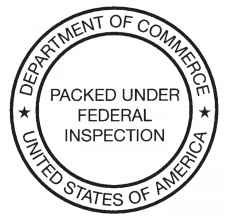 Packed Under Federal Inspection